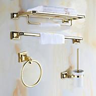 Tilbehørssett til badeværelset / Gylden Antikk