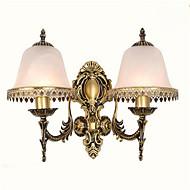 AC 220-240 10 E26/E27 Moderno/contemporaneo Galvanizzatto caratteristica for LED Stile Mini Lampadina inclusa,Luce ambientLampade da muro