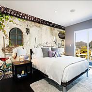 Art Deco 3D Behang voor thuis Landelijk Behangen , Canvas Materiaal lijm nodig behang , Kamer wandbekleding