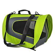 Γάτα Σκύλος Αντικείμενα μεταφοράς & Σακίδια ταξιδίου πλάτης Κατοικίδια Αντικείμενα μεταφοράς Φορητό Αναπνέει Μονόχρωμο Πράσινο Μπλε Ροζ