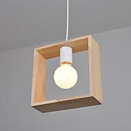 Vedhæng Lys ,  Moderne / Nutidig Rustik Andre Funktion for LED Træ/bambus Stue Soveværelse Spisestue Køkken Læseværelse/Kontor