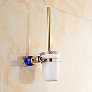 トイレブラシホルダー 浴室小物 / グリーン真鍮 /モダン