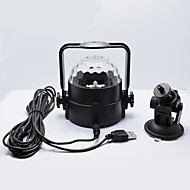 LED-Floodlights Magic LED Light Ball Party Disco Club DJ Toon Lumiere LED Crystal Light Laser Projector 3W - - -