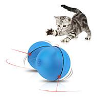 Katteleke Hundeleke Leker til kjæledyr Ball Interaktivt Elektronisk Plastikk