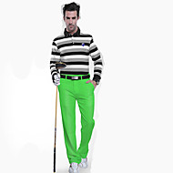 Miesten Hihaton Golf Alaosat Hengittävä Hikeä siirtävä Mukava Vihreä Golf Vapaa-ajan urheilu