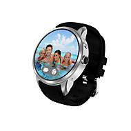 Yy mænds smart watch android smart ur iqi x200 support 2g wifi gps pulsmåler med 1,39 tommer amoled display 512mb ram 8gb rom ur telefon