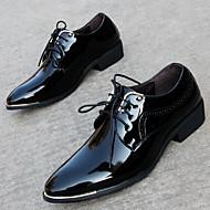 Oxford-kengät-Leveä korko Block Heel-Miehet-PU--Rento-Slingback