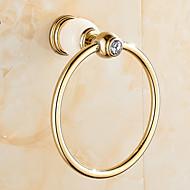 מתלה טבעת למגבת / ירוקפליז /מודרני
