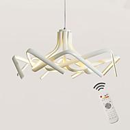 Montage de Flujo ,  Moderno / Contemporáneo Anodizado Característica for LED Regulable Los diseñadores MetalSala de estar Dormitorio