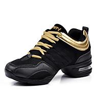 Sapatos de Dança(Dourado Branco Preto Vermelho) -Feminino-Não Personalizável-Tênis de Dança