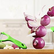 2 Pças. Peeler & Grater Cortador e Fatiador For Fruta Vegetais Plástico Cerâmica Alta qualidade Gadget de Cozinha Criativa