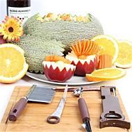 4 osainen DIY Mold lusikka Peeler & Grater Cutter & Slicer Purkinavaaja For hedelmien vihannesten For Keittoastiat Muovi Ruostumaton teräs