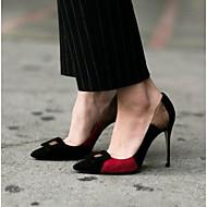 Kvinners hæler sommer slingback pu casual svart