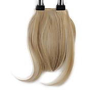 Neitsi 1pcs 8 '' 25g / pc Clip innen auf Haarfranse kurzes gerade synthetisches Haar schlägt m24 / 613 #