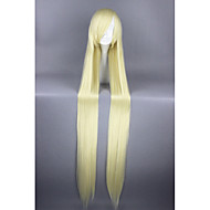 Long chobits-eruda beige straight 48inch anime cosplay perruques cs-159a