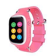 Yya6 gpslbsa-gpswifi tracker barna se etter jente gutt student barn smartwristwatch sted enhet sos anrop alarm smartwatch for ios android