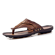 Muške Sandale Ljeto Udobne cipele Koža Aktivnosti u prirodi Ležeran Ravna potpetica
