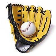 Baseball- og softballhansker Full Finger Barn Reduserer gnaging Lær