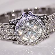 Mulheres Relógio Elegante Relógio de Moda Relógio de Pulso Único Criativo relógio Simulado Diamante Relógio Chinês Quartzo Strass /Aço
