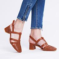 Sandály-PU-Pohodlné-Dámské--Kancelář Šaty-Kačenka Block Heel