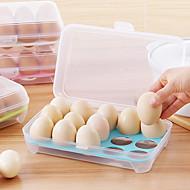 1pcs 15 κενό κουζίνα ψυγείο αυγά αποθήκευσης κουτί αποθήκευσης κουτί διατήρησης φορητό πλαστικό βάζουμε αυγά κουτί σπίτι κουζίνα εργαλεία