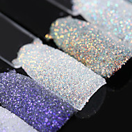 Magic Shell Nail Glitter 1.5g Shining Ultra-thin Powder Manicure Nail Art Dust Decoration