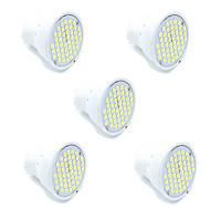 3W GU10 GX5,3 LED bodovky MR16 48 SMD 2835 300 lm Teplá bílá Chladná bílá Ozdobné AC 220-240 V 5 ks