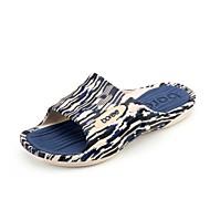 Men's Slippers & Flip-Flops Spring Summer Comfort PVC Casual Flat Heel Navy Green Coffee