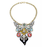 Women's Strands Necklaces Flower Chrome Friendship Cute Style Rainbow Jewelry For Congratulations Graduation Gift 1pc