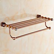 浴室棚 / グリーン真鍮 /モダン