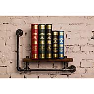 Industrial Style Shelf Bookcase Shelf Industrial Pipe Plumbing Retro to do the Old Rack Shelf Towel Rack-FJ-ZN1D-050A0-1