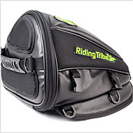 RIDING TRIBE Synthetic Leather Motorcycle Oil Tank Bag Motorbike Travel Tool Tail Bag Luggage Waterproof Riding Handbag Backpack