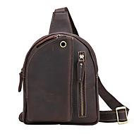 A trend a férfi alkalmi személyiség minden mérkőzés a férfi mellkasát csomag táska bőr táska crossbody mellkas