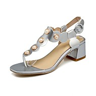 Women's Sandals Summer Slingback Toe Ring Club Shoes Gladiator T-Strap Comfort Novelty Flower Girl Shoes Ankle Strap Light Soles