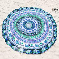 מגבת חוףהדפסה תגובתית איכות גבוהה 100% פוליאסטר מַגֶבֶת