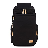 Unisex Backpack Cotton All Seasons Casual Blue Brown Black