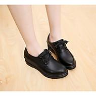 Damen-Loafers & Slip-Ons-Outddor Lässig-PU-Keilabsatz-Komfort-