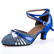 Buty do tańca-Damskie-Latino-Brak możliwości personalizacji-Szpilka-