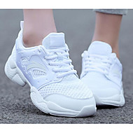 Dames Sneakers Lente Comfortabel PU Casual Wit Zwart
