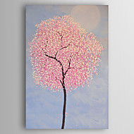Ručno oslikana Mrtva priroda Vertikalno,Moderna Jedna ploha Platno Hang oslikana uljanim bojama For Početna Dekoracija