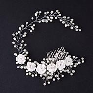 Diadema Tiare Piepteni de Păr Flori 1 Bucată