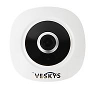 Veskys® 360 graus hd vr full view ip rede segurança wifi camera