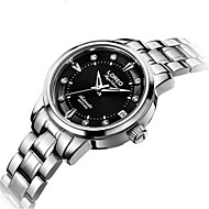 Women's Fashion Watch Mechanical Watch Automatic self-winding Water Resistant / Water Proof Stainless Steel Band Silver
