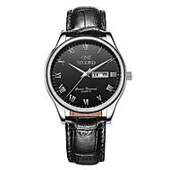 Men's Sport Watch Fashion Watch Mechanical Watch Mechanical manual-winding Calendar Water Resistant / Water Proof Leather Band Black Brown