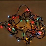 0.5W Leuchtgirlanden 20 lm AC110 V 5 m 100 Leds Zufällige Farben