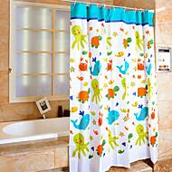 מודרני משי  -  איכות גבוהה וילונות מקלחת