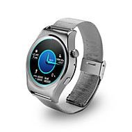 Men's Women's Sport Watch Smart Watch Digital Calendar Water Resistant / Water Proof Alloy Band Black Silver