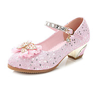Fille Chaussures de mariage Confort Nouveauté Chaussures de Demoiselle d'Honneur Fille Paillette Eté Automne Habillé Soirée & Evénement