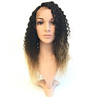 Glueless wrap cheio de peles nova moda t # 1b # 27 ombre lase perucas peruca de cabelo humano para mulheres negras