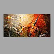 Peint à la main Nature morte Horizontale,Classique Moderne Un Panneau Toile Peinture à l'huile Hang-peint For Décoration d'intérieur